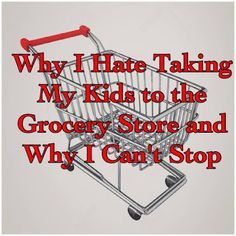 A Stone's Throw from Perfection: Why I Hate Taking My Kids to the Grocery Store and Why I Can't Stop: It ain't pretty but it's necessary.   #mom #autism #ABA #kids #groceryshopping #training
