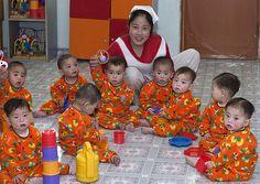 Kids in Nampho orphanage - North Korea | Flickr - Photo Sharing!