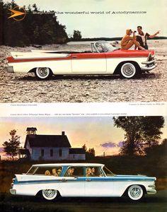 1957 Dodge Custom Royal Lancer Convertible and Custom Sierra Station Wagon