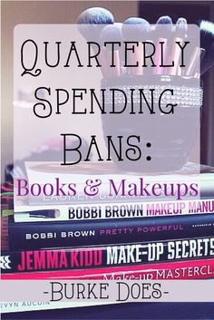 No Spend Months are really hard. Instead Emilie is doing a category spending bans. This is such a cool idea. I'm such a book worm so I need to read through my bookshelves anyway! No spending on books wouldn't lead me to feel limited because I still have tons of books to read. | Burke Does