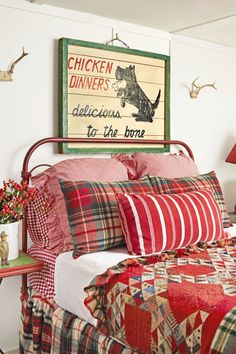 Bedroom  - CountryLiving.com