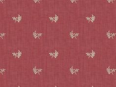 Bayberry Strie in Berry from Brunschwig & Fils | @Kravet #fabric #cotton #embroidery #floral #red