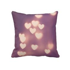 Girly Heart Pillow by PaperAngelsPhotos for-the-home
