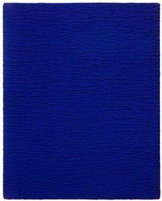 Monochrome bleu sans titre – 1959 – Yves Klein (1928-1962)