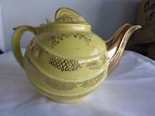 Vintage Hall Canary Yellow Teapot