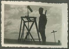 עמדת שמירה ותצפית בחניתה העילית בימים ראשונים  1938 - 4