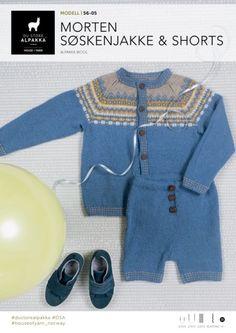 Morten jakke og shorts, designet av Trine Lise Høyseth for DSA Chrochet, Jumpers, Baby Knitting, Tweed, My Design, Leggings, Wool, Shorts, Sweaters