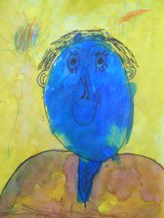 kindergarten portraits of a friend