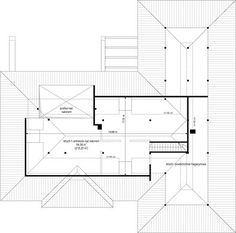 Projekt domu Willa Parterowa 171,76 m² - koszt budowy - EXTRADOM 3 Bedroom House, Closet Bedroom, Beautiful House Plans, Beautiful Homes, House Design Pictures, My House Plans, French Country House Plans, My Dream Home, Tiny House