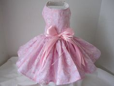 Hey, I found this really awesome Etsy listing at http://www.etsy.com/listing/151511141/dog-dress-xs-pink-paris-dress-by-ninas