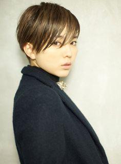 【ショートヘア】大人モード!なかっこいいウェットショート/BEKKU hair salonの髪型・ヘアスタイルカタログ