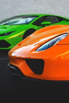 Lamborghini and Ferrari