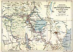 Retrace Stanley's route across africa in 1887-1889