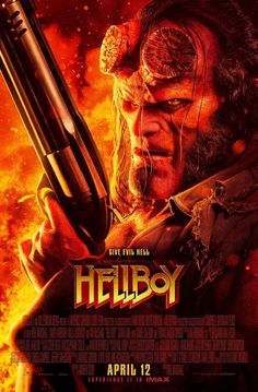 HELLBOY 2019 POSTER A4 A3 A2 A1 CINEMA MOVIE LARGE FORMAT