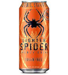 Lighter Spider Sugar Free Energy Drink PD