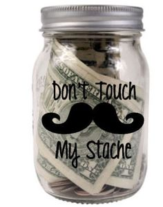 Dont touch my Stache Decals