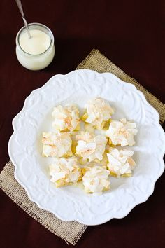 Coconut Cream Cheese Pastry Bites  from @Katie Goodman