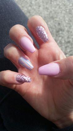 Birthday nails design princesses art ideas 57 Ideas for 2019 Purple Acrylic Nails, Square Acrylic Nails, Summer Acrylic Nails, Best Acrylic Nails, Pink Nails, Sexy Nails, Toe Nails, Cute Acrylic Nail Designs, Dream Nails