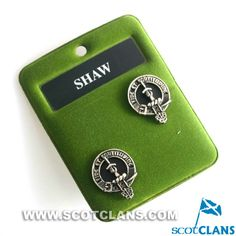 Shaw Clan Crest Cuff