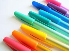 coloured pens  ☙(mf)❧