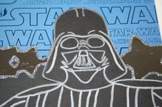 """Darth Vader - 12"""" x 12"""" Double Page Layout"""