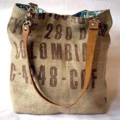 custom jute bags