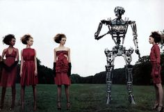 One of the best fashion memories - The Total Lady by Steven Klein, Vogue Italia 2003