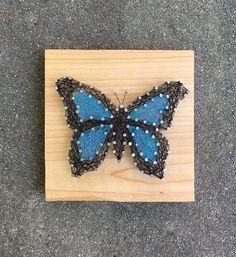 Butterfly String Art Bridesmaids Gift Moth Caterpillar
