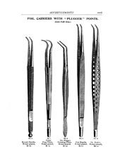 Vintage Black and White Dental Posters Tools
