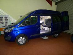 Wellhouse Leisure Ford Terrier Hi-Top, SE Model, 155PS in Deep Impact Blue
