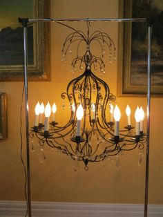 C 1940 Vintage 12 Lights Chandelier | eBay