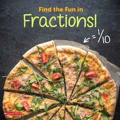 Are your elementary school kids struggling with fractions? Teach them the fun in fractions with these at-home activities!