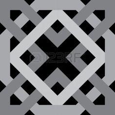 ISLAMIC BORDER: Modelo inconsútil del Arabesque, stock vector, uso para el fondo de azulejos, escala de grises Vectores