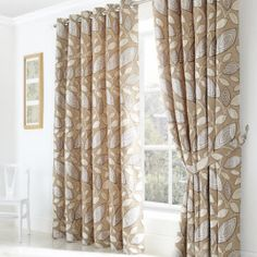 Curtains With Rings, Leaf Design, Modern Design, Range, Contemporary, Stylish, Home Decor, Cookers, Decoration Home