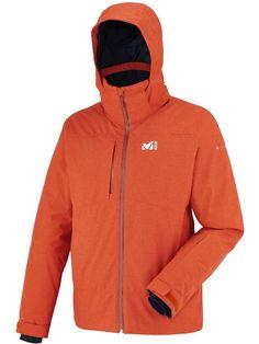 Millet Mens Bullit Jacket Heather Orange
