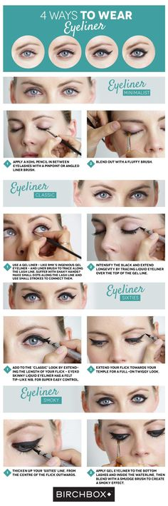 4 Ways To Wear Eyeliner ft. Eyeko Skinny Liquid Eyeliner