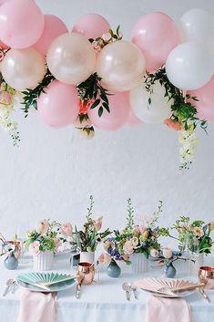 Romantic Wedding Balloon Decorations Ideas ❤ See more: http://www.weddingforward.com/wedding-balloon-decorations/ #weddingforward #bride #bridal #wedding