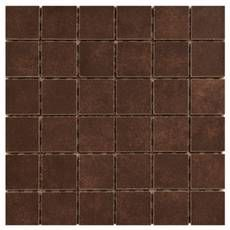 Avenzo Polished Brick Mosaic Marble Floor And Wall Tile Common 10 In X 12 Actual