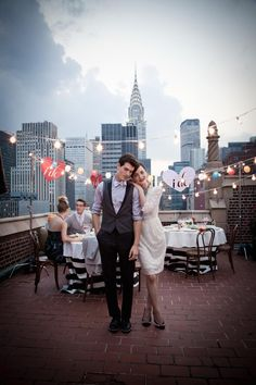 #weddings #macys #fashion #nyc #vintage #wedding #rooftop