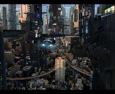 Futuristic City 5 Full by rich35211 on deviantART