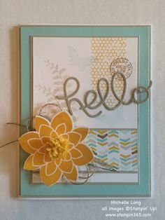 Stampin' Up! Crazy About You and Butterfly Basics and Hello You Thinits - FMS 172