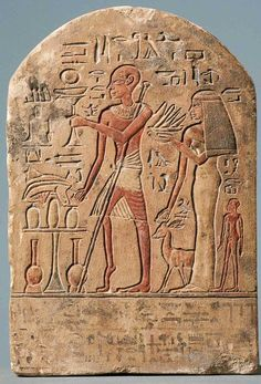 The tomb of Userhat dates from the reign of Amenhotep II, and would therefore be the oldest known representation in the world of the poliomyelitis.