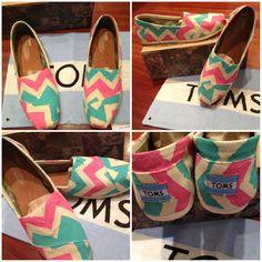 More custom Toms for Elise