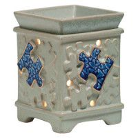 Piece by Piece Scentsy Warmer | Autism Speaks Scentsy Warmer. portion of money is donated to autism speaks. available now march-2016 kay-hayes.scentsy.us