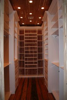 Cedar Lined Closet Maybe Just Back Wall And Ceiling By The Closets
