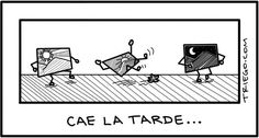 #Humor Cae la tarde