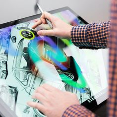 Interact with ideas in a whole new way. Surface Studio, Surface Design, Microsoft Surface, Product Launch, Instagram Posts, Faces, Ideas, Tecnologia, The Face
