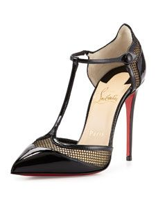 christian louboutins shoes for men - christian louboutin baretta studded red sole pump, christian ...