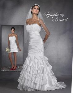 Cool chic and extraordinary elegance from Symphony Bridal!