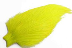 1  Whiting spey rooster - Fluo Gul Bronce grade